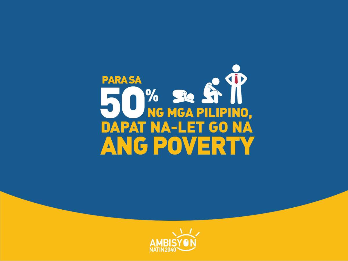 Let go na ang poverty