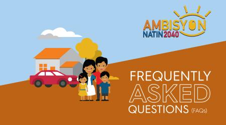 Ambisyon Natin 2040 FAQs